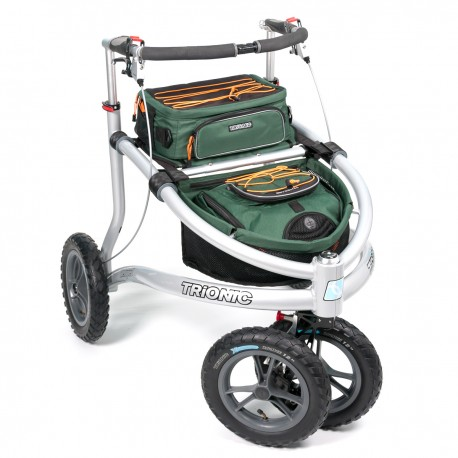 Trionic Veloped Off-road rollator - TREK