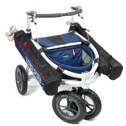 Trionic Veloped Off-road rollator - GOLF