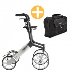 TrustCare 'Lets Go Out' Udendørs Rollator