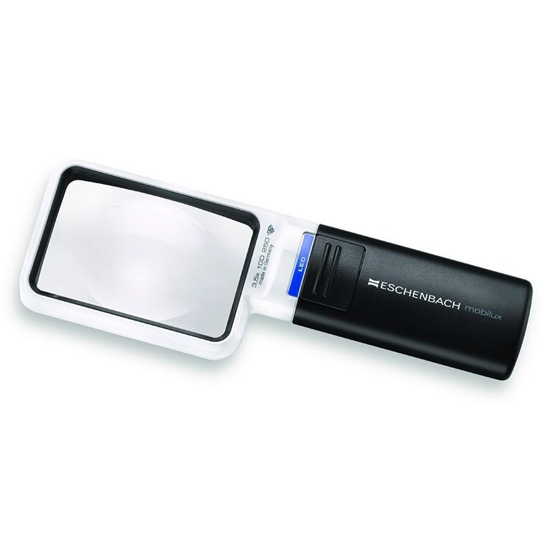 Mobilux LED förstoringsglas med ljus.