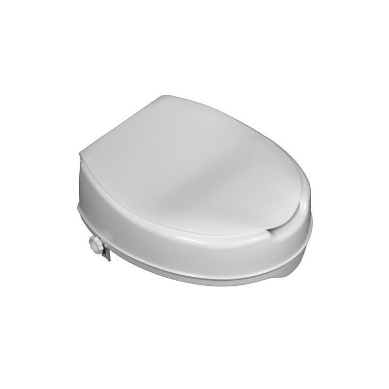 Toalettförhöjar med lock, 3 forskellige højder