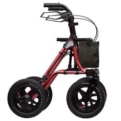 Dietz Taima XC Outdoor Rollator med luftgummidäck.