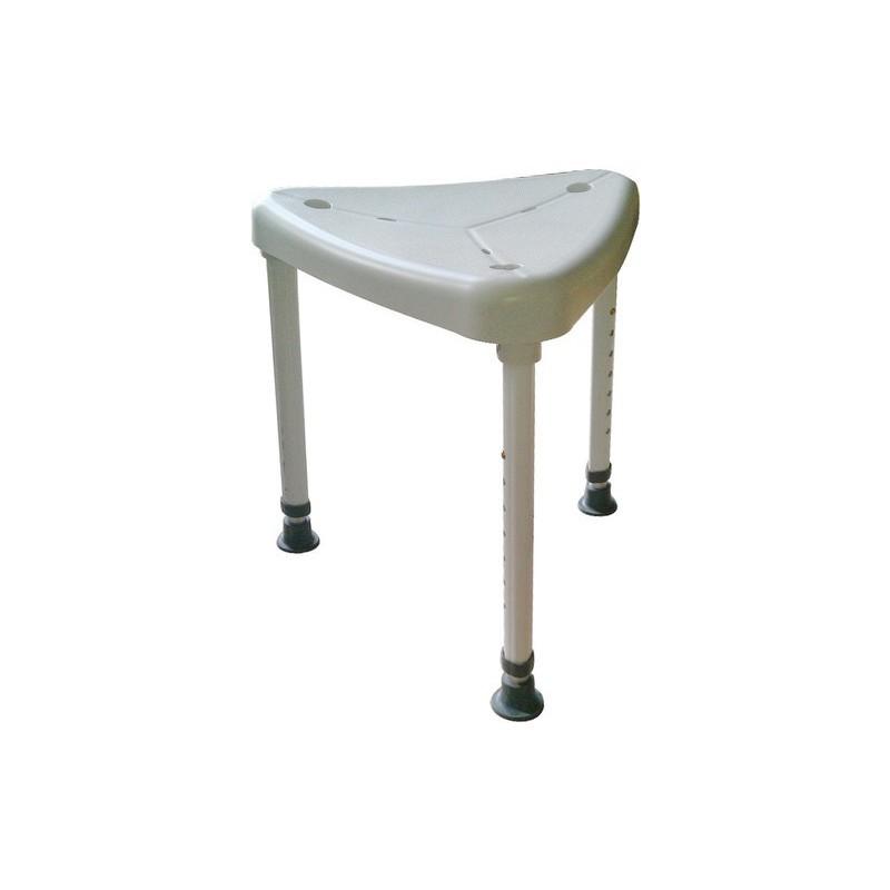 Duschpall med trekantigt säte