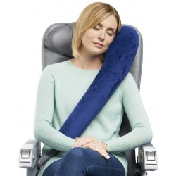 TravelRest Resefilt i fleece, navy
